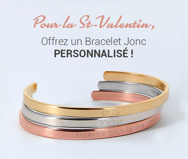 Pour la Saint-Valentin, misez sur un bijou personnalisé
