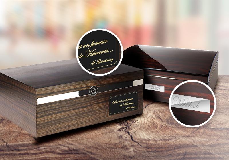 Aficionados, personnalisez votre cave à cigares