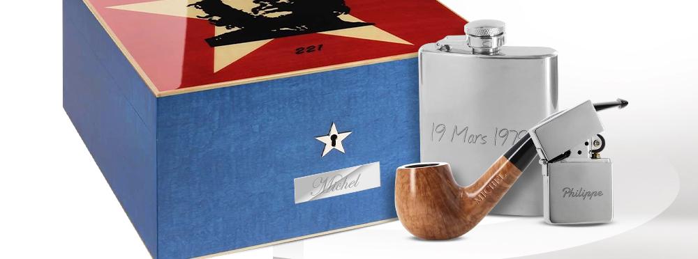 Offrir un cadeau personnalisé à un fumeur